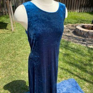 Blue Velvet Maxi